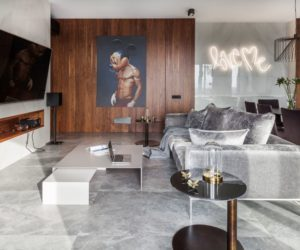 Posh Apartment in Minsk Gets A Complete Remodel