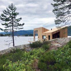 Nisser Micro Cabin by Feste Landscape Architecture