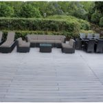 Ohana 18-Piece Outdoor Patio Furniture Sofa and Dining Set