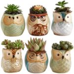Owl Pot Ceramic Flowing Glaze Base
