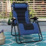 PHI VILLA XL Zero Gravity Chair Padded Recliner