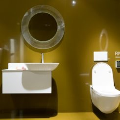 Riva bathroom toilet design