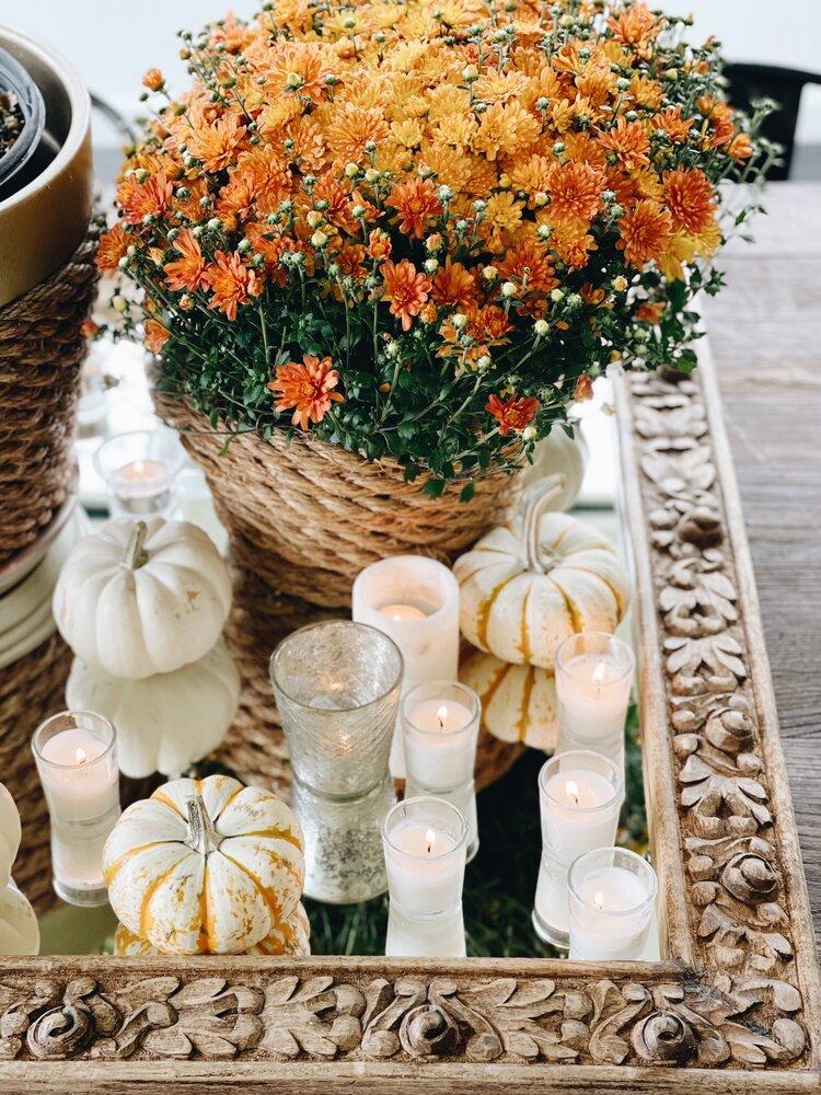 Charming Fall Centerpiece Ideas