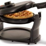 Rotating Non-Stick Belgian Waffle Maker