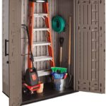 Rubbermaid Resin Vertical Outdoor Shed