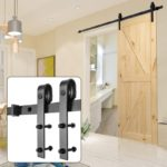 Sliding Barn Wood Door Basic Sliding Track Hardware Kit