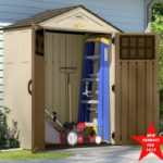 Suncast 6 ' x 3' Vertical Storage Shed