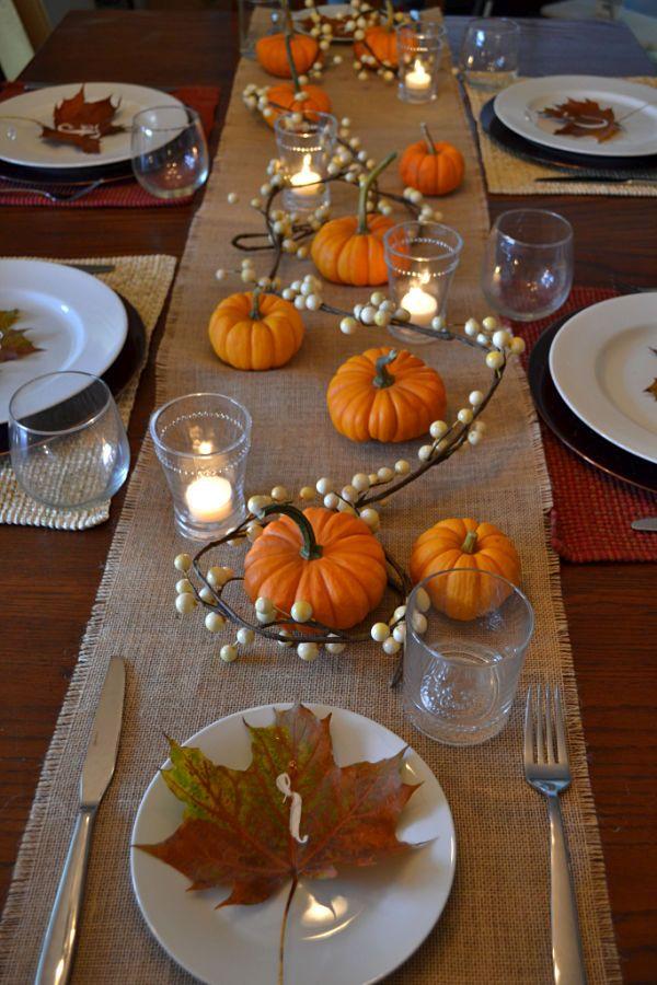 Charming Thanksgiving Table Setting Ideas That Everyone ...