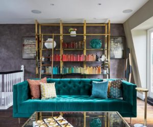 Gorgeous Teal Colour in Home Décor