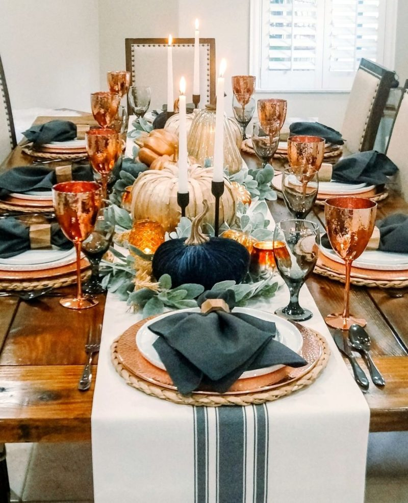 Fresh Thanksgiving Table Decor Ideas Featured On Instagram