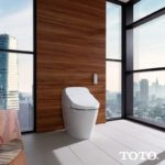 Toto aWashlet with Integrated Toilet G400