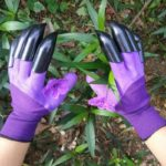 Waterproof Garden Gloves with Claw For Digging Planting