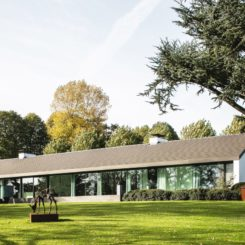modern Villa NTT Belgium by Architectuuratelier De Jaeghere