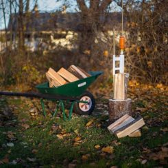 14-Ton Manual Log Splitter