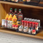 3 Tier Expandable Cabinet Spice Rack Organizer