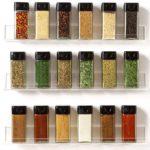 Acrylic Spice Rack Organizer