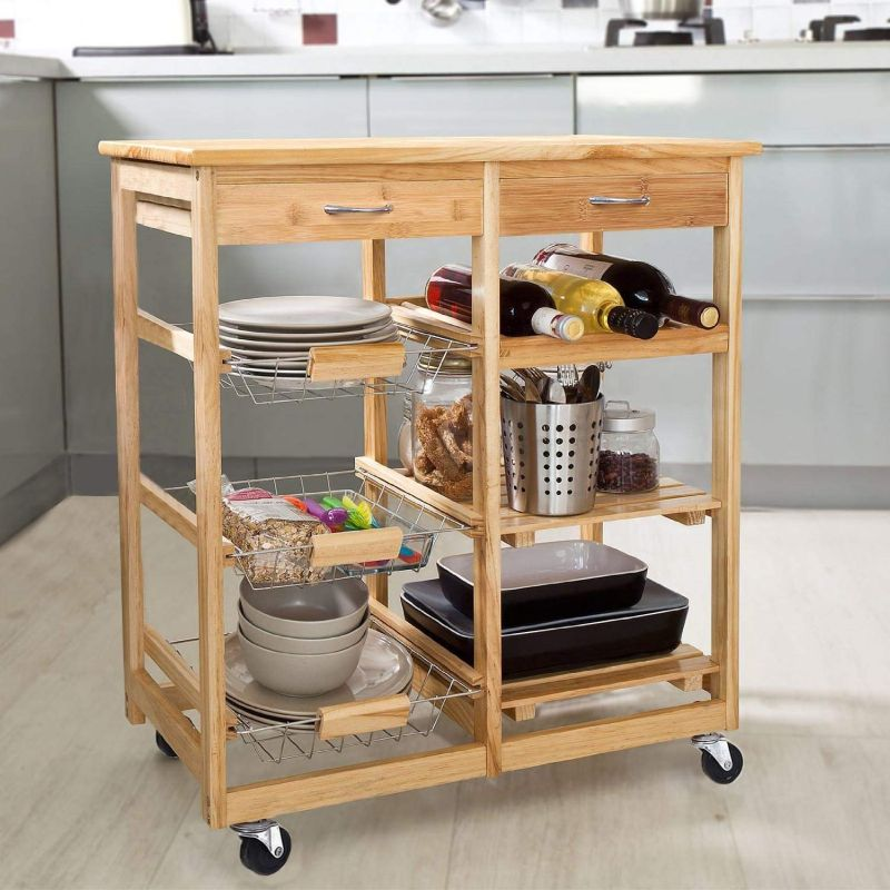 the best kitchen carts for small and flexible spaces