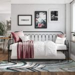 Bright Pop Twin Metal Daybed and Trundle