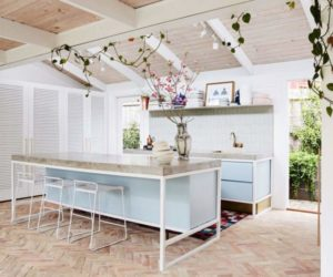 Custom-Designed Kitchen Islands With Seating and More