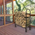 Deluxe Outdoor Log Rack