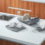 Dish Drying Rack with Tray 4 PC Combo for Counter