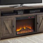 Electric Fireplace TV Console for TVs up to 60