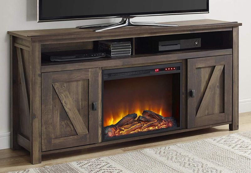 Electric Fireplaces, Fake Fireplace Heater Tv Stand