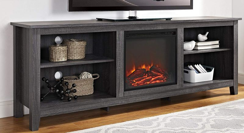 10 Great Tv Consoles With Built In Electric Fireplaces