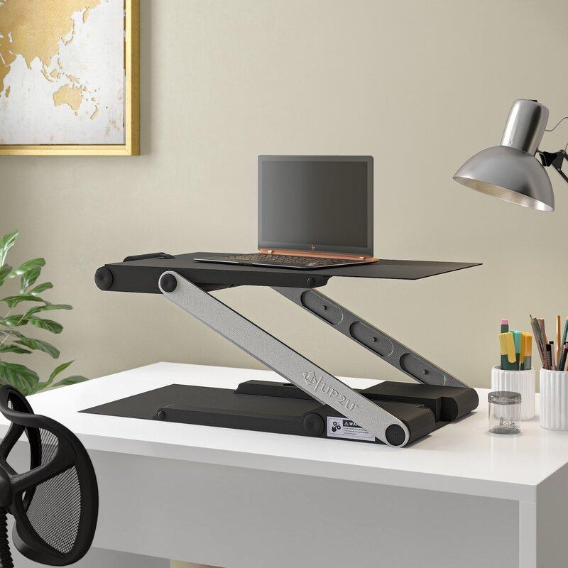 Hassett Height Adjustable Standing Desk Converter