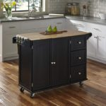 Kitchen Cart with Wood Top by Home Styles