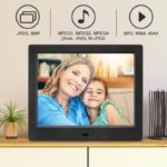 MRQ Digital Frame with a Wide 180 Degree Viewing Angle