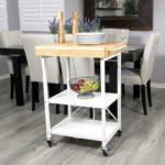 Origami Foldable Kitchen Island Cart