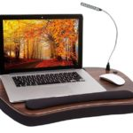 Oversized Wood Top Memory Foam Lap Desk