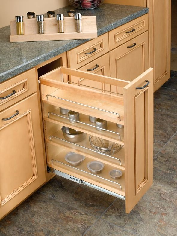 Best Spice Racks For A Modern Kitchen, Spice Drawers Kitchen Cabinets