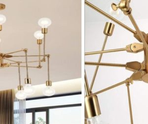 10 Best Sputnik Light Fixtures Inspired by History