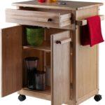Single Drawer Kitchen Cabinet Storage Cart