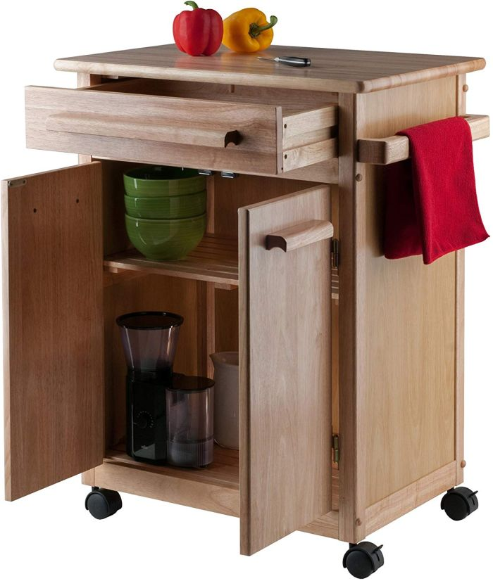 Kitchen Carts For Small And Flexible Es