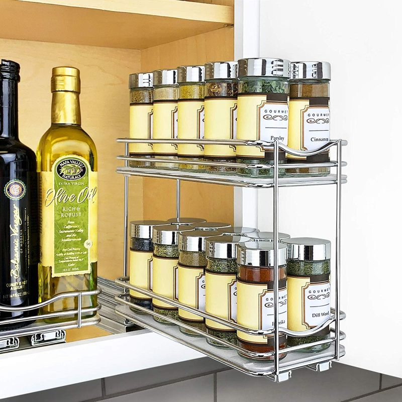 Sliding Spice Rack: The Best Spice Racks For A Modern Kitchen Based On Their Type