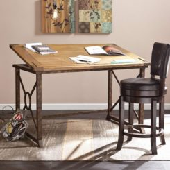 Southern Enterprises Knightley Tilt Top Drafting Table