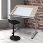Height Adjustable Drawing and Drafting Table