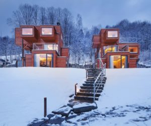 Charming Apartments Complex Surrounded by Forests And Wilderness