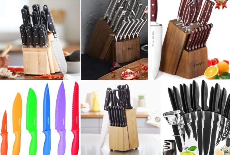The 15 Best Kitchen Knife Sets To Choose From Right Now