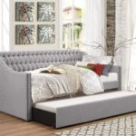 Tulney Fabric Upholstered Daybed with Trundle