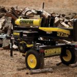 Vertical Full Beam Gas Log Splitter