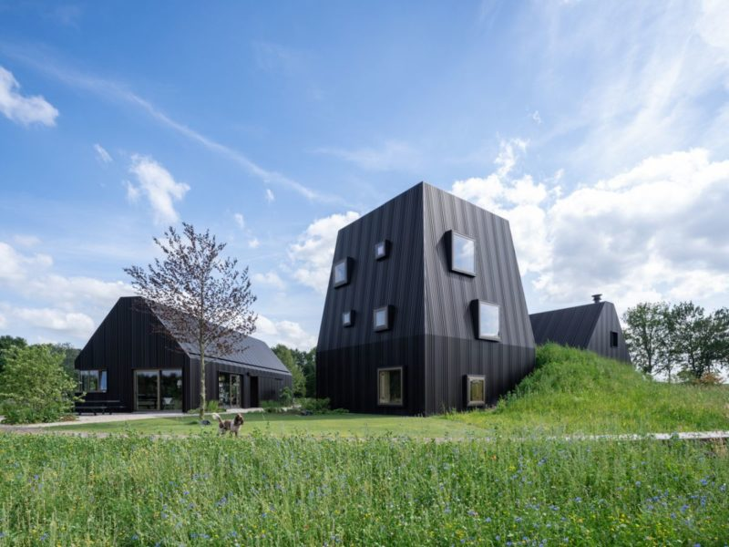 Contemporary Villa In The Dutch Countryside Forms A Tiny Village
