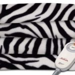 Zebra Sunbeam Heated Throw Blanket