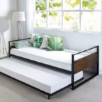Zinus Suzanne Twin Daybed and Trundle Frame Set