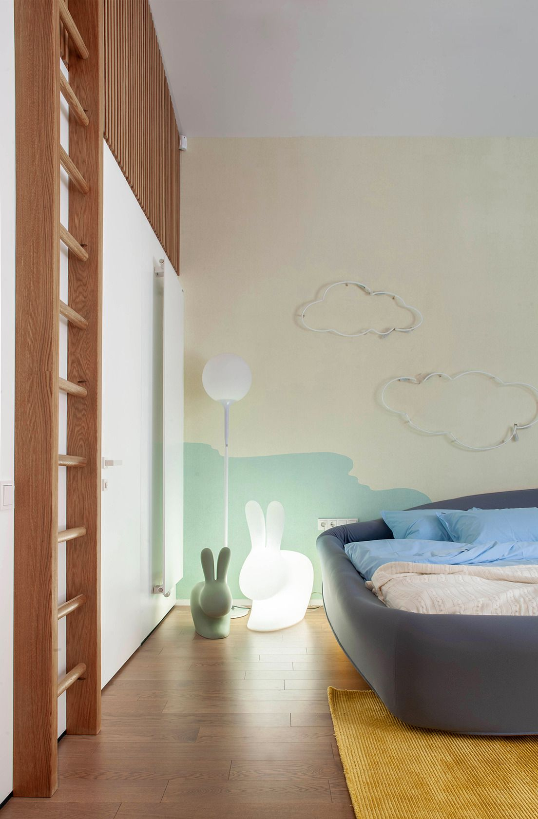 The chilldren's rooms are very fun and quirky while also maintaining a refined and elegant look