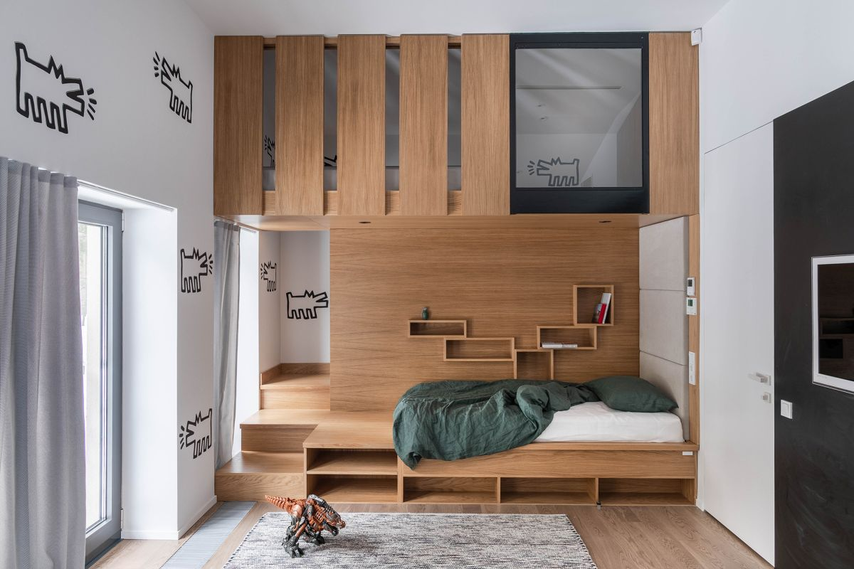 Each bedroom has its own unique theme and stands out in a really cool way