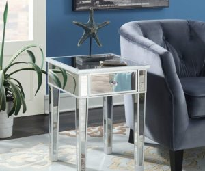 10 Cool Mirrored Tables That Would Catch Anyone's Eye